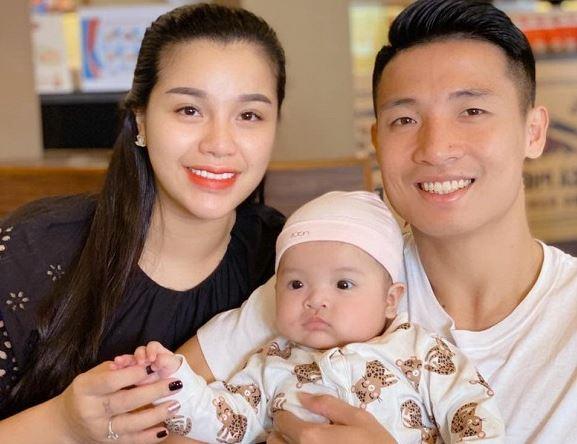 Trung vệ Bùi Tiến Dũng lên tiếng về tin đồn trục trặc với vợ chưa cưới Khánh Linh