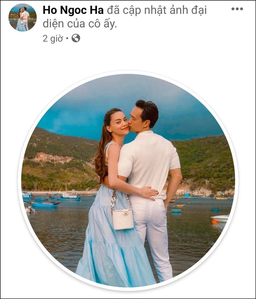 Suốt hơn 3 năm yêu nhau, đây là lần đầu tiên Hà Hồ dành điều đặc biệt cho Kim Lý trên Facebook cá nhân